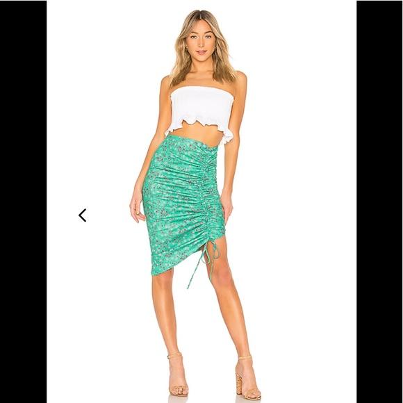 Lovers + Friends Dresses & Skirts - Lovers + Friends Cam Skirt in Parakeet Ditsy